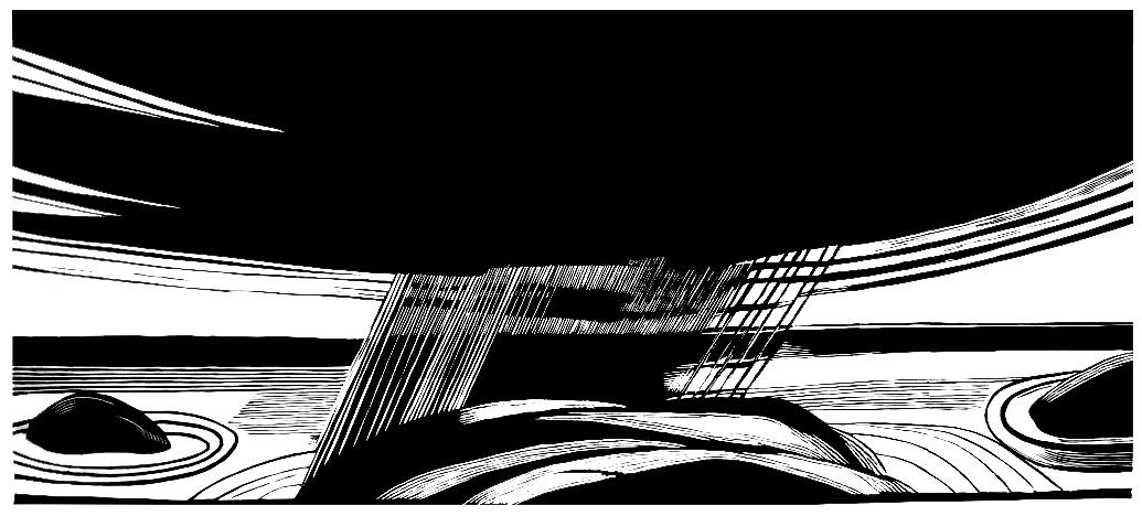 Lofoten 3_70x100cm_linocut_2011