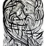 Janis Joplin_linocut_2013