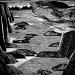 Lofoten 1_70x100cm_linocut_2011