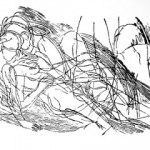Zakochani 1_linocut 40x60cm_2014